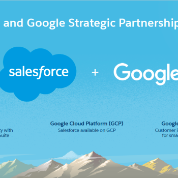 Salesforce and Google